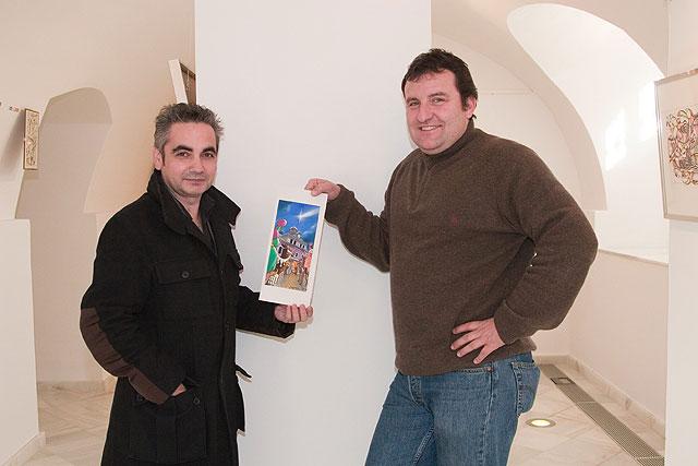 Juan Álvarez y Jorge Gómez crean la tarjeta navideña del Ayuntamiento - 1, Foto 1
