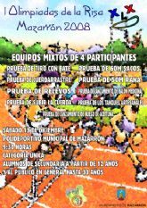 """La """"I Olimpiada Juvenil de la Risa"""" se celebrar� mañana s�bado 13 de diciembre en Mazarr�n"""