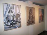 '26 mujeres' en la sala de exposiciones del Palacete de Villarrías.