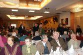 La Asociación de Ocio y Tiempo Libre de la Tercera Edad de Puerto Lumbreras celebra su encuentro navideño anual
