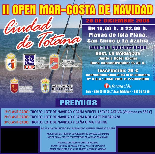 II Open Mar-Costa de Navidad Ciudad de Totana, Foto 1