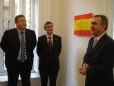 El delegado del Gobierno y el alcalde de La Unión inauguran la sede del nuevo Juzgado de Paz