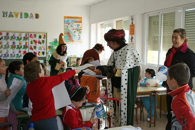 El cartero Real llega a Puerto Lumbreras para hacer entrega de las cartas de los Reyes Magos a los escolares - 1, Foto 1
