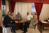 El Alcalde recibe al nuevo Presidente de la Comunidad de Regantes de Puerto Lumbreras