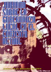 Mañana jueves se celebra en Alcantarilla una jornada sobre la Gobernanza local en el contexto actual