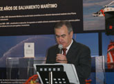 Salvamento Marítimo organiza una exposición con motivo del 15 Aniversario de la Sociedad