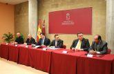 El alcalde de Puerto Lumbreras firma un convenio para la rehabilitación de la Casa del Cura