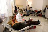 El I Maratón de Donación de Sangre en el Palacio Consistorial tiene lugar hoy