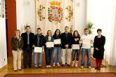 Los jóvenes italianos becados por el programa Leonardo Da Vinci se despiden de Cartagena