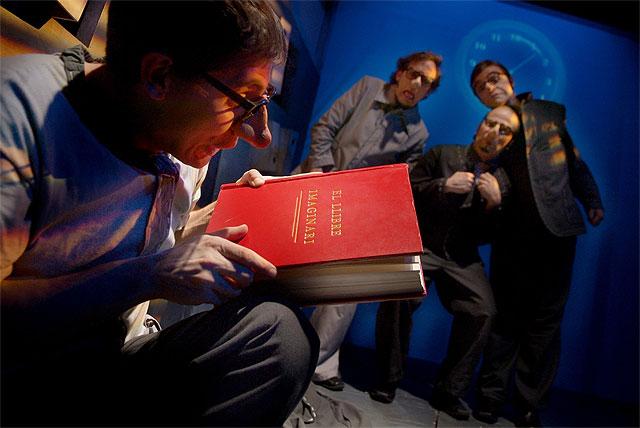 La Baldufa presenta el espectáculo EL LIBRO IMAGINARIO en el Teatro Villa de Molina el domingo 21 de diciembre - 1, Foto 1