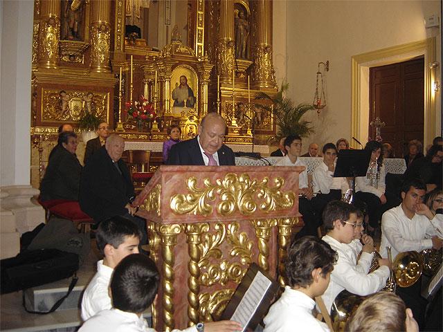 El pregón y el concierto de Navidad dan la bienvenida en San Javier a las fiestas navideñas - 1, Foto 1