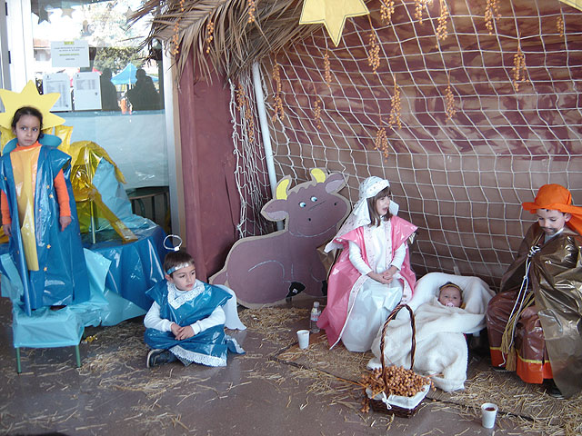 El Belén viviente del colegio de El Mirador consigue implicar a todo el pueblo - 2, Foto 2