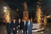 """Inaugurada la escultura en homenaje """"A  la independencia"""" de Puerto Lumbreras realizada por Juan José Quirós"""