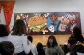 Un gigantesco mural pintado por 50 niños del Taller de Dibujo se expondrá permanentemente en el Centro Cultural
