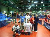 Siete escolares de Totana participaron en la 2ª jornada regional escolar de tenis de mesa
