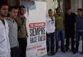 Cientos de cartageneros participaron en el 'I Maraton Donacion de Sangre'