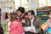 El alcalde visita los colegios del municipio