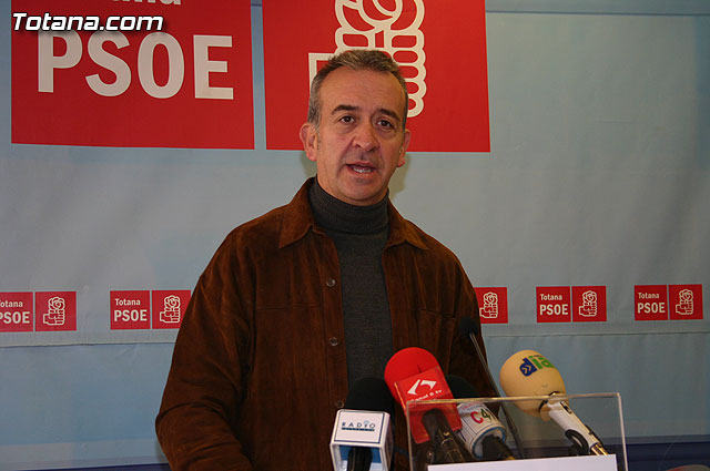 Ot�lora (PSOE) recuerda que M. Andreo est� imputado en la instrucci�n del caso Totem, Foto 1