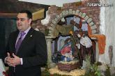 El alcalde, Jos� Mart�nez Andreo, felicita la navidad al pueblo de Totana