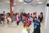 Los niños del barrio del Carmen de Las Torres de Cotillas, de fiesta por Navidad