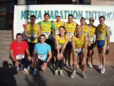 """Atletas del Club Atletismo Totana participaron en la IV Media Maratón Internacional """"Molina de Segura"""""""