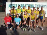 "Atletas del Club Atletismo Totana participaron en la IV Media Marat�n Internacional ""Molina de Segura"""