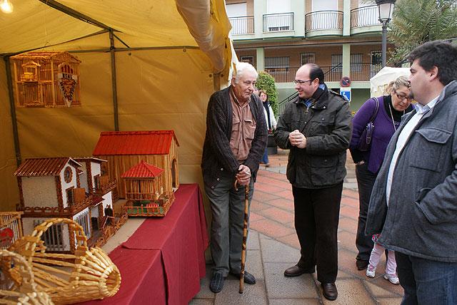 Se inaugura el Mercado Artesanal de Navidad de Puerto Lumbreras - 1, Foto 1