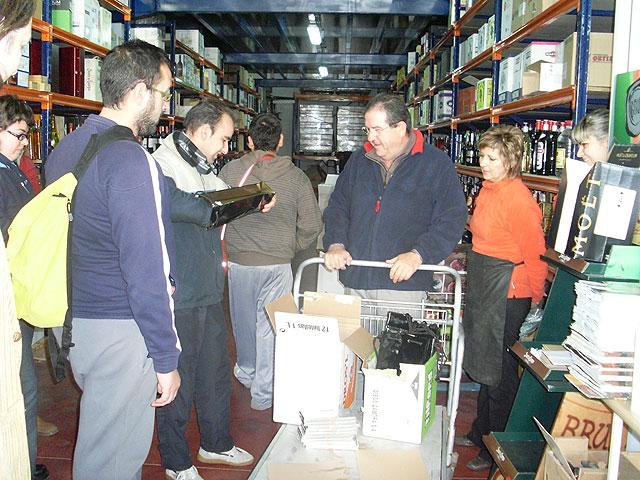 """El Servicio de Apoyo Psicosocial realiza una visita a la empresa """"El Rincon del Vino"""", Foto 2"""