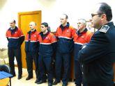 Toma de posesión de cinco nuevos suboficiales del Cuerpo de Bomberos