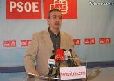 Los socialistas hacen balance del año político e instan a Andreo a que 'asuma responsabilidades políticas y deje la alcaldía'
