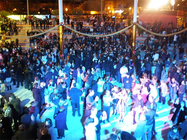 Mas de 1000 lumbrerenses despiden el año de Cincuentenario y dan la bienvenida al nuevo 2009 - 1, Foto 1