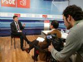 Pedro Saura afirma que 2009 es el año de la esperanza para cambiar el modelo económico de la Región de Murcia