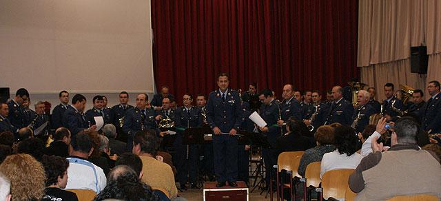 Puerto Lumbreras acoge el concierto de la banda de música de la Academia General del Aire de San Javier - 1, Foto 1