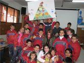 """La Concejal�a de Sanidad desarrolla un taller  de nutrici�n  y un desayuno saludable con  los niños  del colegio """"Reina Sof�a"""""""