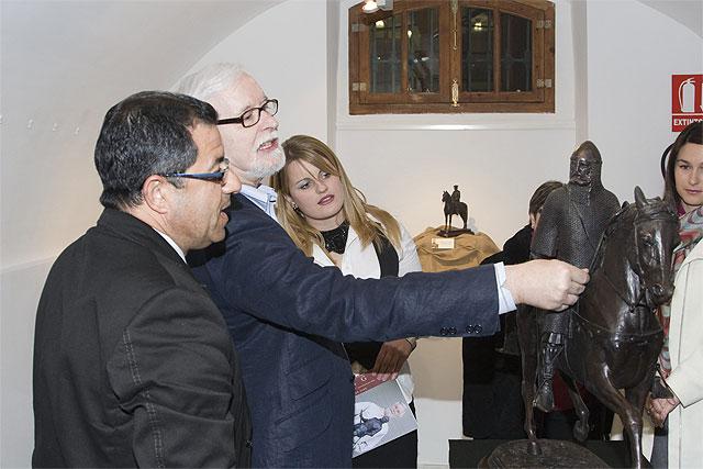 Inaugurada la exposición 'Bronces de Sergio' en las Casas Consistoriales, Foto 1