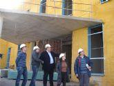 Visita a las obras de la ampliación del Centro de Salud de La Unión