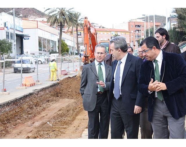 Dos grandes colectores evitarán inundaciones en el centro urbano de Mazarrón y en Bahía, Foto 2