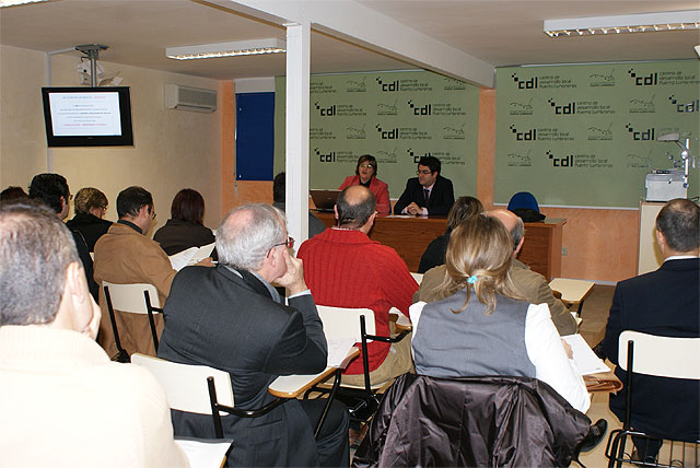 Miembros del proyecto Agrupación de Empresas Innovadoras del Sureste de Murcia (AEI) se reúnen en Puerto Lumbreras - 1, Foto 1