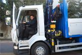 Se presentan los dos nuevos camiones gr�a que completan la flota del Ayuntamiento