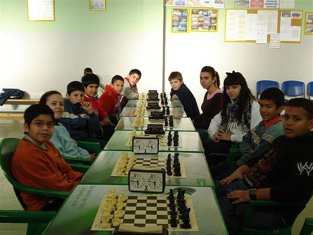 Cristina García Albiol, primera clasificada en la fase de ajedrez, Foto 1