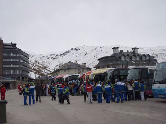 Tomorrow, Thursday is the deadline for registrations trip to Sierra Nevada for skiing