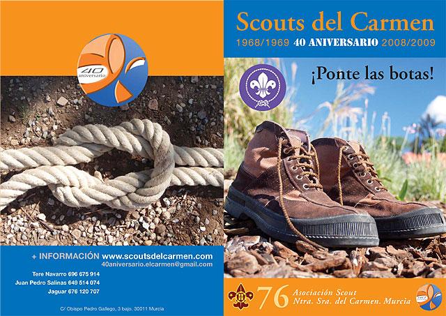 El Grupo Scout Ntra. Sra. del Carmen de Murcia conmemora el 40 aniversario de su creación con la realización de diversas actividades - 1, Foto 1