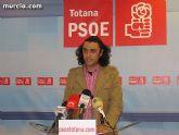 """Martínez Usero: """"ya han sido aprobadas obras para Totana por valor de más de tres millones de euros en el Plan Zapatero"""""""
