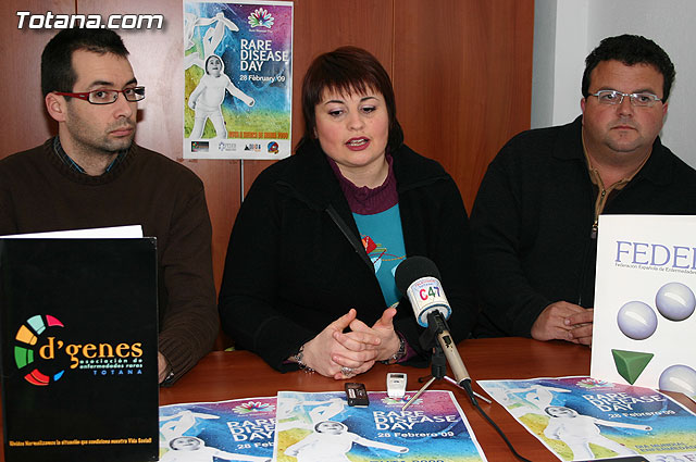 Presented the poster for the route to the Sierra de María (Almería), which this year commemorates the First World Day for Rare Diseases on February 28, 2009