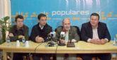 Sánchez-Castañol reelegido presidente del PP de La Unión