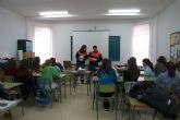 Protección Civil de San Javier visita los institutos en su programa de charlas divulgativas