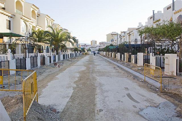 La calle Sierra de las Moreras de Ordenación Bahía estrena su imagen, Foto 1