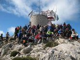 La 4ª subida al Morrón contó con la participación de más de 240 personas