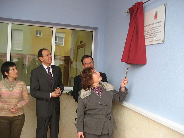La Comunidad Autónoma financia con 500.000 euros el nuevo centro de atención a la infancia 'Los Granaos' de Beniaján - 1, Foto 1