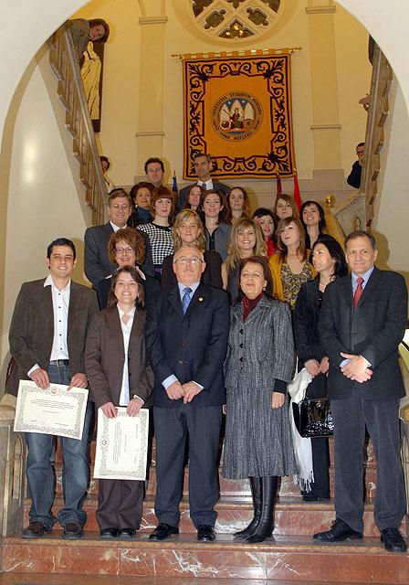 La Universidad de Murcia ofreció un homenaje a los quince estudiantes Premios Nacionales Fin de Carrera - 2, Foto 2